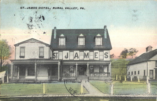 St. James Hotel Rural Valley Pennsylvania
