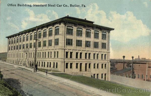 Office building butler pa for Butler building details