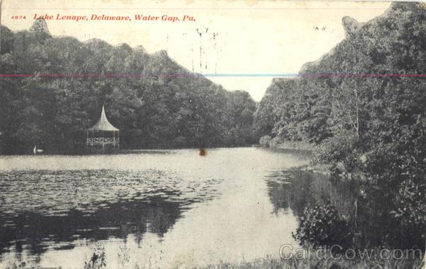 Lake Lenape Delaware Water Gap Pennsylvania