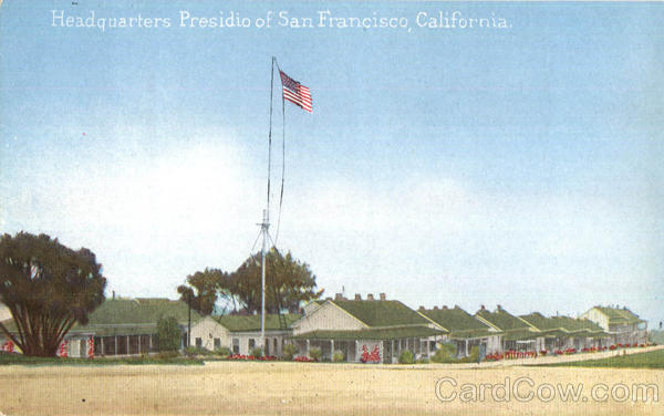 Headquarters Presidio Of San Francisco California