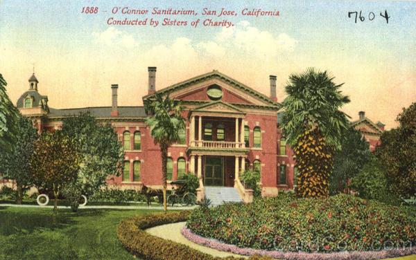 O'Connor Sanitarium San Jose California