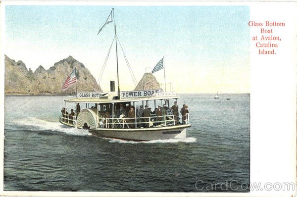 Glass Bottom Boat At Avalon Catalina Island California