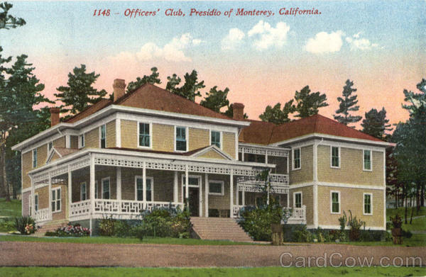 Officer's Club Monterey California