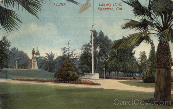 Library Park Pasadena California