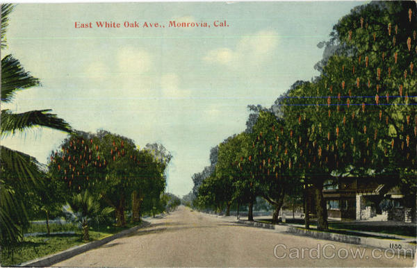 East White Oak Ave. Monrovia California