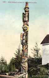 Chief Shake's Totem, Fort Wrangell