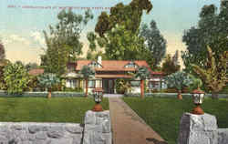 Douglas Place At Montecito Postcard