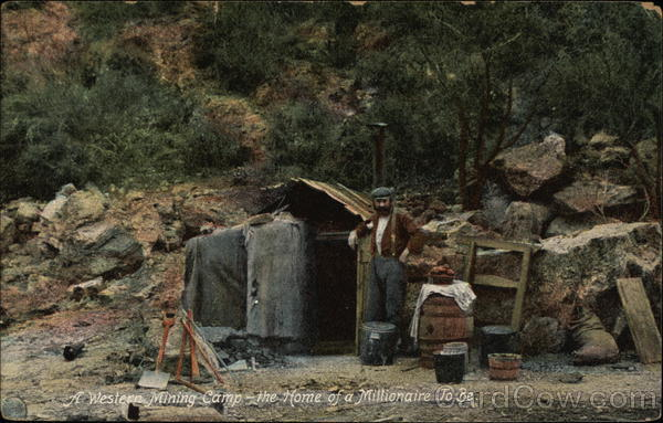 A Western Mining Camp Whittier California