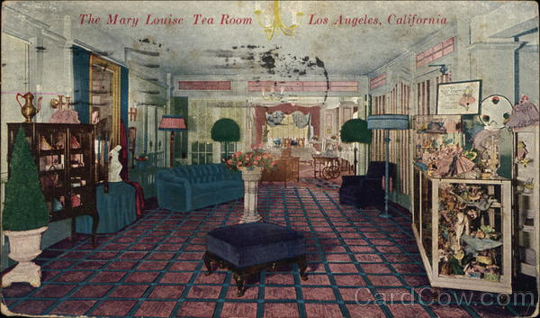 The Mary Louise Tea Room Los Angeles California