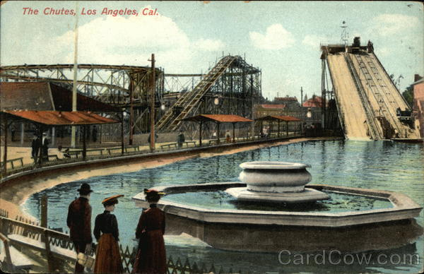View of The Chutes Los Angeles California