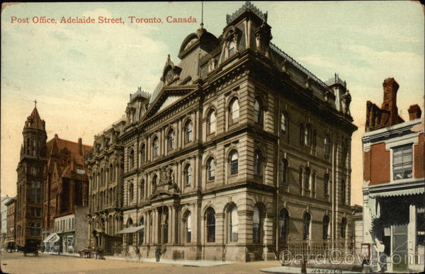 Post Office on Adelaide Street Toronto Canada Ontario