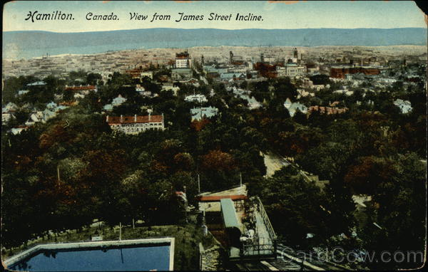 View from the James Street Incline Hamilton Canada