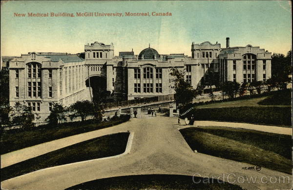 New Medical Building, McGill Univeristy Montreal Canada