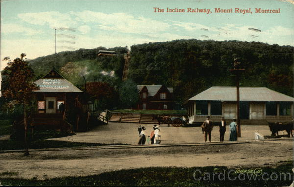 The Incline Railway, Mount Royal Montreal Canada Misc. Canada