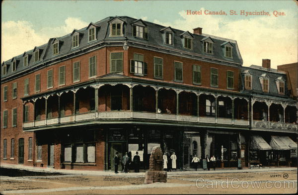 Street View of Hotel Canada St. Hyacinthe Misc. Canada