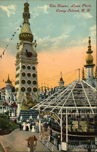 The Tower at Luna Park Coney Island New York