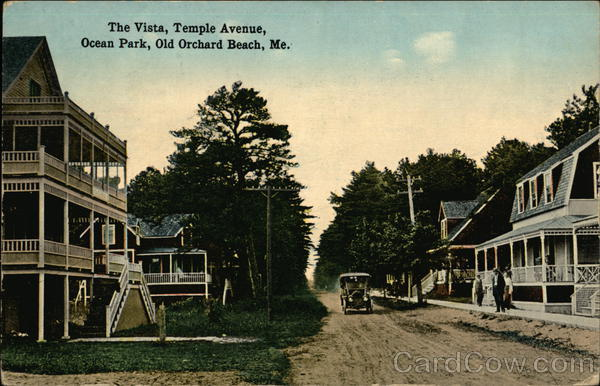 The Vista, Temple Avenue, Ocean Park Old Orchard Beach Maine
