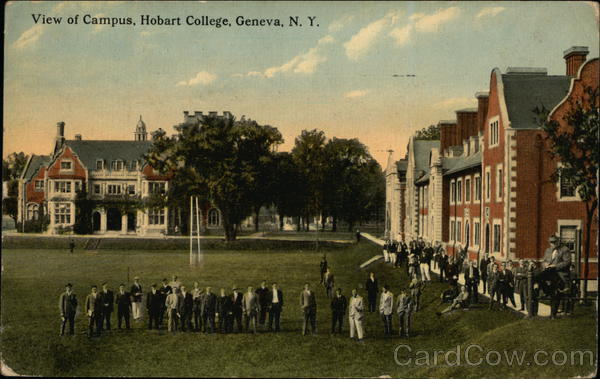View of Campus, Hobart College Geneva New York
