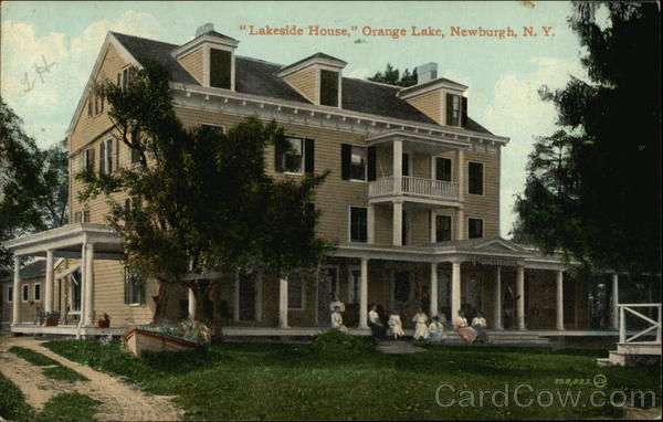 Lakeside House, Orange Lake Newburgh New York