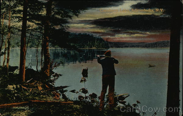 Hunting on Cranberry Lake Adirondack Mountains New York