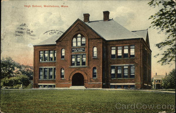 High School and Grounds Middleboro Massachusetts
