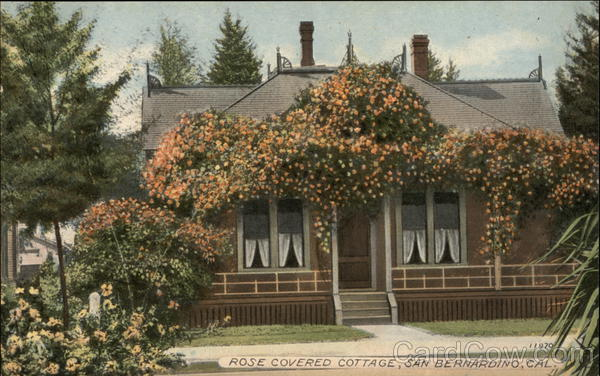 Rose Covered Cottage San Bernardino California