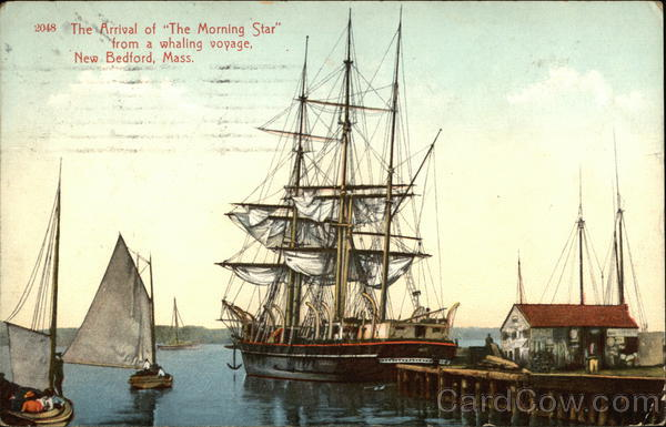 The Arrival of The Morning Star from a Whaling Voyage New Bedford Massachusetts