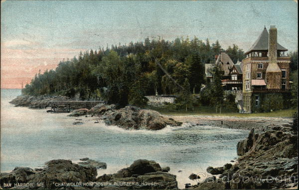 Chatwold, Hon. Joseph Pulitzer's House Bar Harbor Maine