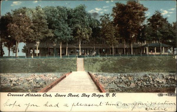Crescent Athletic Club, Shore Road Bay Ridge New York