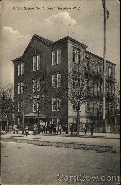 Public School No. 1 West Hoboken New Jersey