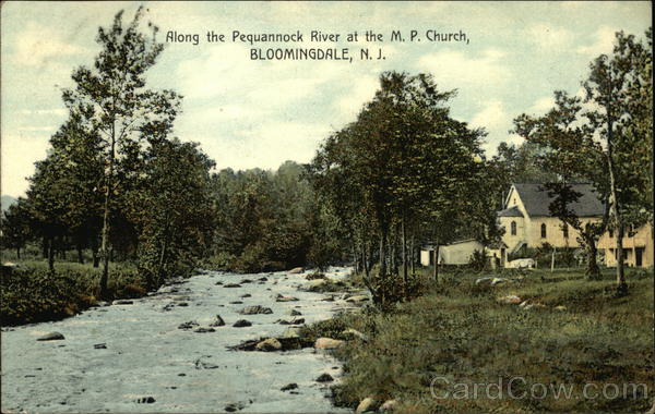 Along the Pequannock River at the MP Church Bloomingdale New Jersey