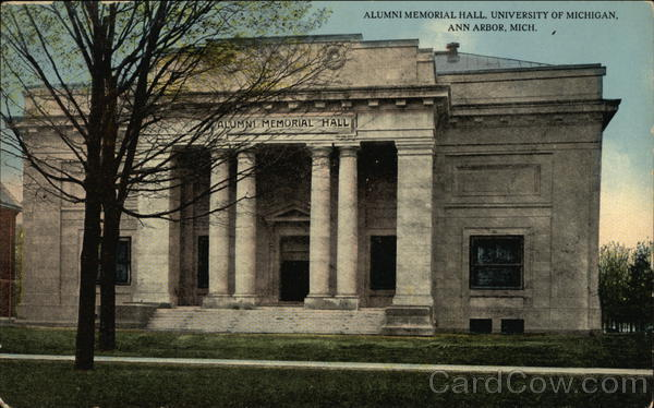 Alumni Memorial Hall at University of Michigan Ann Arbor