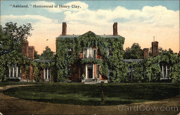 Ashland, Homestead of Henry Clay Lexington Kentucky