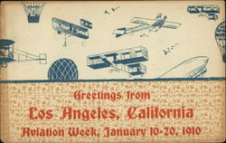 Greetings from Aviation Week, January 10-20, 1910