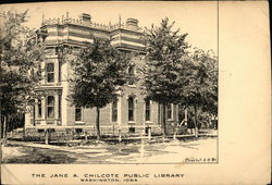 The Jane A Chilcote Public Library