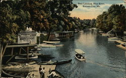 Boat Landing at Blue River