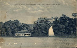 Water Front, Minnekahda Golf Club Postcard