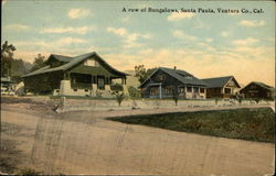 A Row of Bungalows