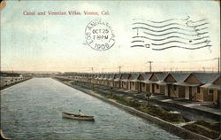 Canal and Venetian Villas