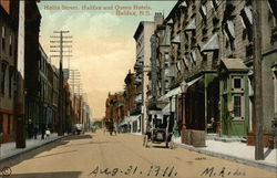 Hollis Street, Halifax and Queen Hotels