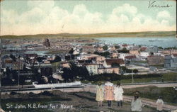 Town View from Fort Howe