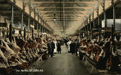 Interior View of City Market