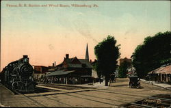RR Station and Wood Street