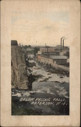 Below Passaic Falls