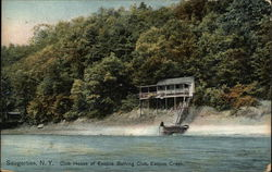 Club House of Esopus Bathing Club, Esopus Creek