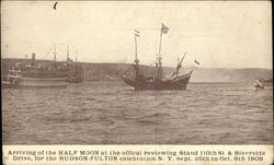 Arriving of the Half Moon