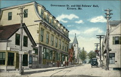 Government Street and Odd Fellows' Hall