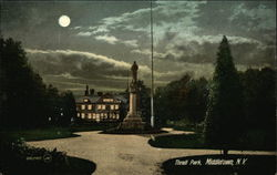 Thrall Park in the Moonlight