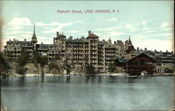 View of Mohonk House from the Water