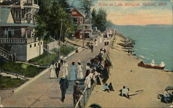 Scene on Lake Michigan